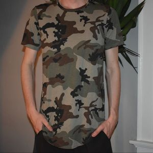 PACSUN Camo Shirt
